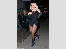 Lady Gaga exposes her breast while filming in NYC Daily