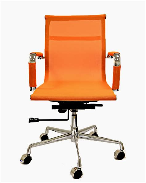 mesh office chair recline hight tilt adjust chrome base ebay