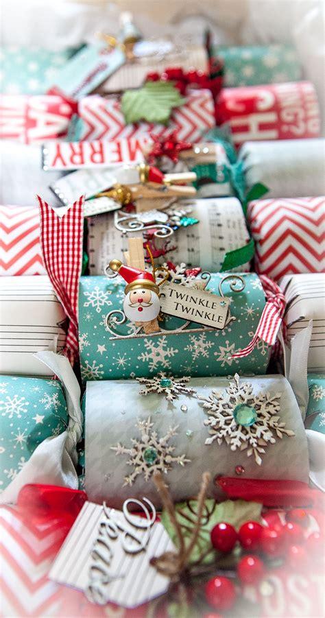 diy christmas bonbons part 1 scrapbook creations