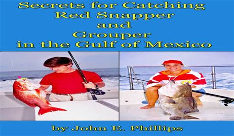 gulf mexico snapper grouper catching secrets ebook outdoorhub pr