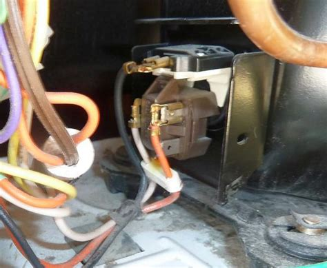 Freezer Start Relay Switch Wiring Diagram by Ge Refrigerator Stopped Cooling Doityourself