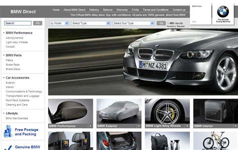 Bmw Uk Opens Shop On Ebay