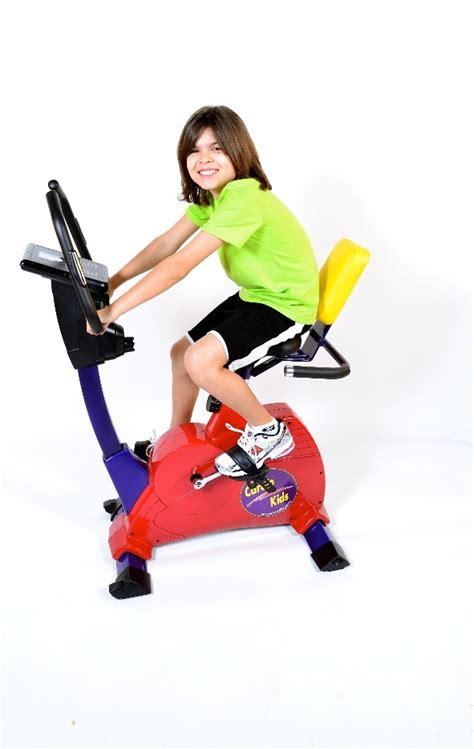 Kids Semi-Recumbent Exercise Bike (Elementary Size) by KidsFit