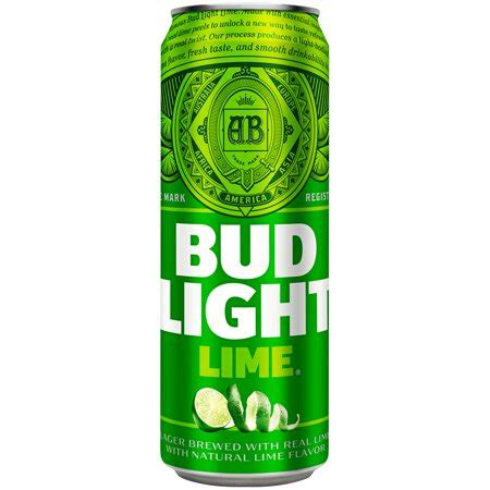 Carbs In Light by Bud Light Lime 174 25 Fl Oz Can Walmart