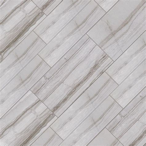 Home Depot Floor Tiles Porcelain by Marazzi Vitaelegante Grigio 12 In X 24 In Porcelain