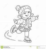 Skating Outline Skates Oefening Kleurend Pensionair Inschepen Paginaoverzicht Raad Schaatsen Uiterste Esercitazione Coloritura Pattinare Imbarco Pensionante Scheda Competition Sou Kinderjaren sketch template