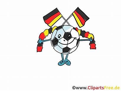 Soccer Cliparts Clipart Clip Football Germany Gratis