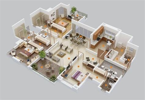 simple house floor plans  story  planos de la casa   bedroom floor plans