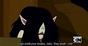 Adventure Time Quotes - Marceline the Vampire Queen ...