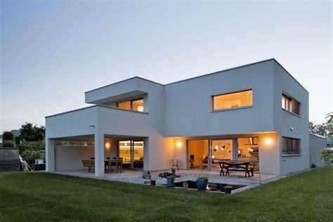hanghaus einfamilienhaus r 246 this modern massivbau moderne architektur haus l form modern