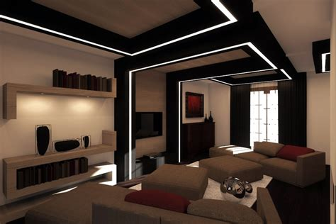 Design Moderno Interni by Progetto Di Interni Soggiorno Idee Architetti