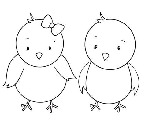 desenhos de pintinhos  imprimir  colorir animais