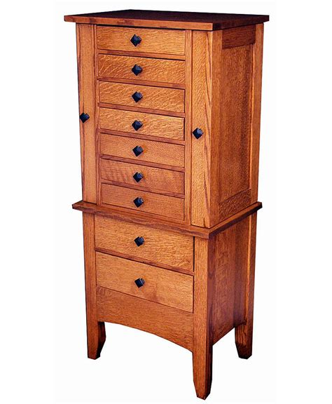 Jewelry Furniture Armoire by Jewelry Mission Armoire Amish Direct Furniture