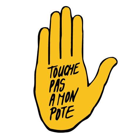 touche pas a mon pote 0 free vector 4vector