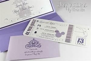 disney wedding invitations With disney destination wedding invitations