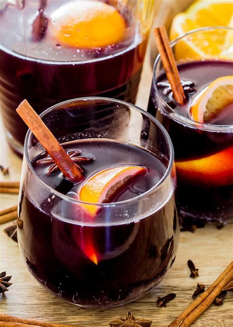 mulled wine recipe mulled wine jo cooks