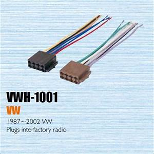 Car Cd Dvd Player Power Wire Cable Plug For Vw 1987 2002