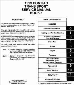 Pontiac Trans Sport 1996 Radio Wiring Diagrams  Pontiac  Schematic Symbols Diagram