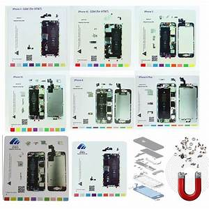 Full Set Magnetic Screw Chart Mat For Iphone 6s 6s Plus 6