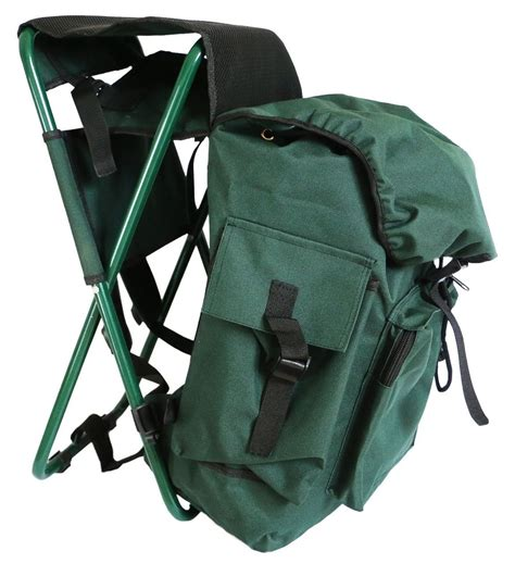 Gear Backpack Chair Uk by Fishing Pack With Stool Seat Chair With Bag