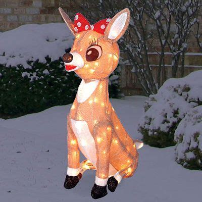 rudolph the red nosed reindeer rudolph outdoor christmas