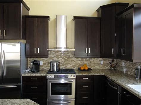 dark brown maple kitchen cabinets save