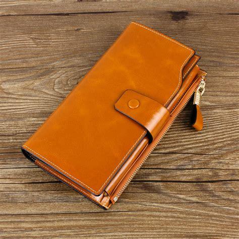 portefeuille femme en cuir original pas cher