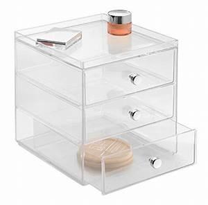 Aufbewahrungsbox Für Schminke : mdesign aufbewahrungsbox f r brillen durchsichtig f r brillen sonnenbrillen und lesebrillen ~ Frokenaadalensverden.com Haus und Dekorationen