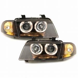 A4 B5 Scheinwerfer : angel eyes scheinwerfer schwarz f r audi a4 s4 b5 199 00 ~ Kayakingforconservation.com Haus und Dekorationen