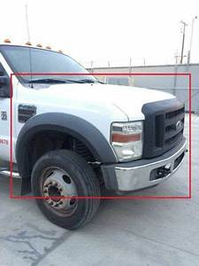 08 Ford F450 Super Duty 6 4l Diesel Front End Clip Hood