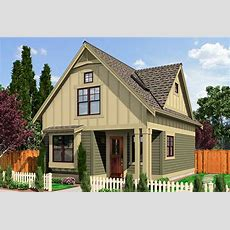 Narrow Lot Cottage  23292jd  Architectural Designs