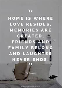 36 Beautiful Quotes About Home | Relationships | Home ...