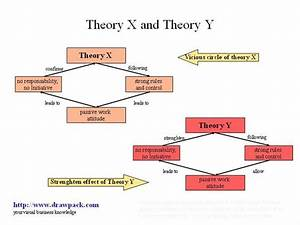 Theory X And Theory Y Business Diagram