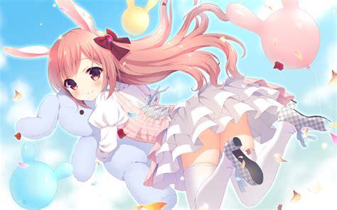 Loli Anime Wallpaper - 1440x900 anime bunny ears loli dress
