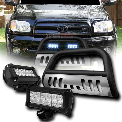 Jeep Grand Light Bar by 08 10 Jeep Grand Front Bull Bar Guard 36w Led