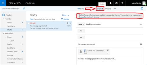 tutorial enabling the new office 365 email encryption