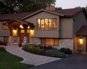 front porch designs for split level homes exterior split level facelift design pictures remodel decor and ideas exquisite exteriors