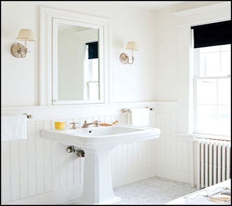 bathroom with wainscoting ideas wainscoting bathroom walls home design ideas and pictures