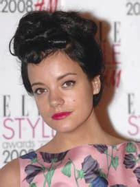 Celebrity Hair Affair: Lily Allen - The Hollywood Gossip