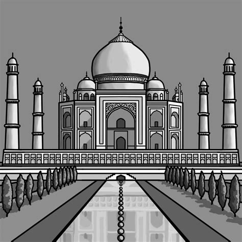 Taj Mahal Clipart Clipart Suggest
