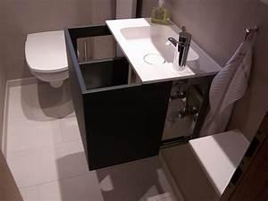 Badmöbel Für Gäste Wc : g ste wc mit gro z gigen ablagen bad 016 b der dunkelmann ~ Michelbontemps.com Haus und Dekorationen