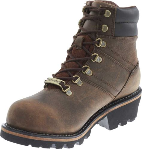 brown motorcycle boots for men harley davidson men 39 s ladson waterproof motorcycle boots