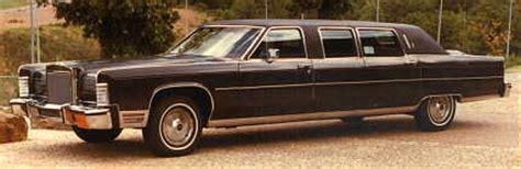 1978 Lincoln Continental Limousine