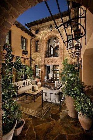 mediterranean room courtyards   mediterranean