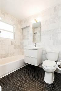 marble bathroom tile Wow! Mid century modern Cherrywood Ranch - Just Completed ...