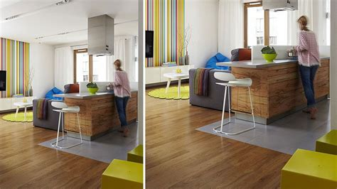 sol cuisine ouverte davaus cuisine grise sol bois avec des idées