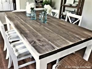 Vintage, Home, Love, Dining, Room, Table, Tutorial