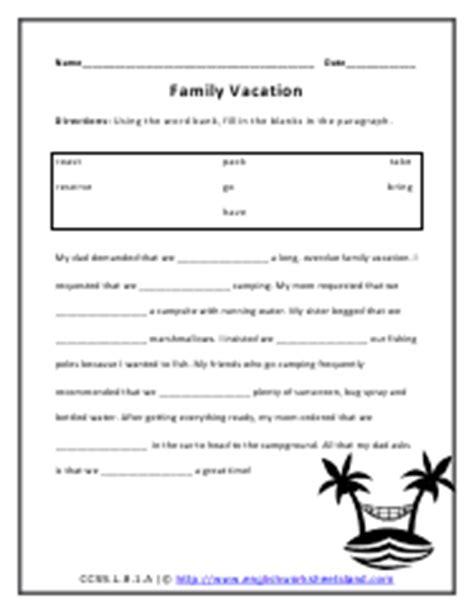 subjunctive mood worksheets