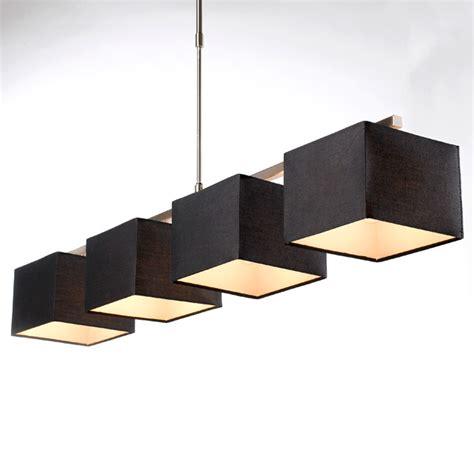 plafonnier led pour cuisine lustre 4 lumières ely noir h 28cm 60w castorama