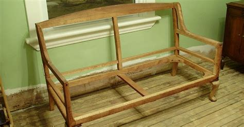 Settee Repairs by My 1923 Foursquare My Settee Project Part 3 Frame